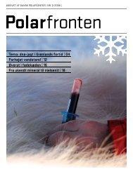 Polarfronten 2008 - Polarfronten som e-magasin