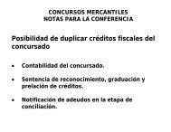 Aspectos Fiscales del concurso Mercantil