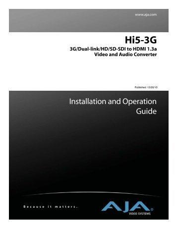 Hi5-3G - Aja