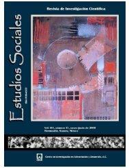 Revista Estudios Sociales 31 - Latin American Network Information ...