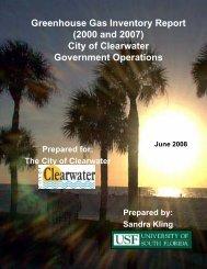 Greenhouse Gas Inventory Municipal Government - City Home