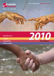 Download Catholic Mission 2010 Annual Report - Catholic Diocese ...