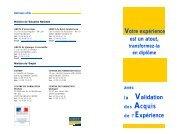 des Acquis - Le conseil VAE en Bretagne