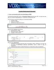 Livraison électronique de document - Catalogue des bibliothèques ...