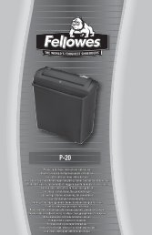 WEEE - Fellowes