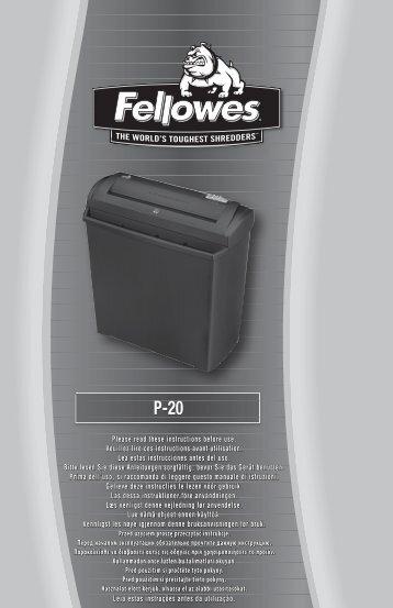 WEEE - Fellowes