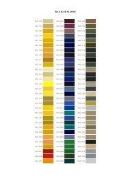 RAL värvikaarti - Robert