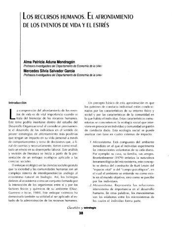 Alma Patricia Aduna Mondragón - Departamento de Administración