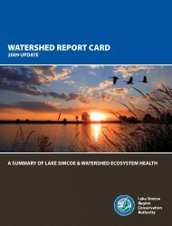 watershed report card - Lake Simcoe Region Conservation Authority