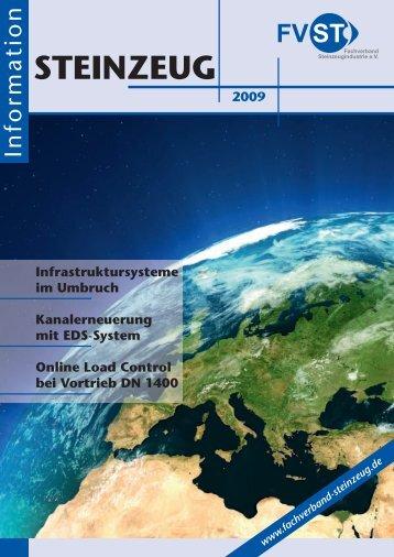 STEINZEUG Information 08/09 - Fachverband Steinzeugindustrie eV