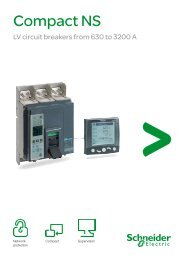 Download Compact NS circuit breakers brochure - Schneider Electric
