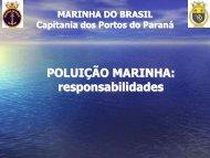 POLUIÇÃO MARINHA - Secretaria do Meio Ambiente e Recursos ...