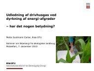 Udledning af drivhusgas ved dyrkning af energi-afgrøder ... - inbiom.dk