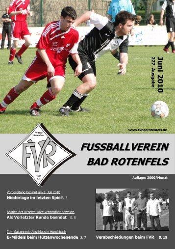 fvr aktuell - FV Bad Rotenfels