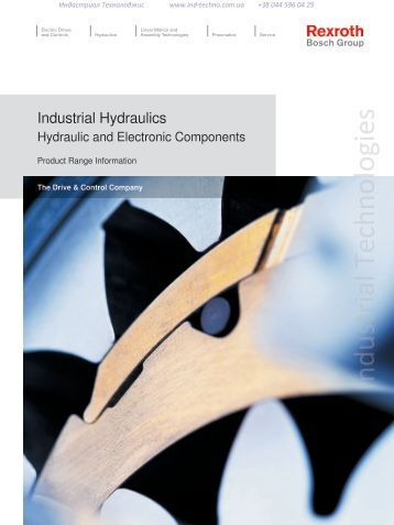 Industrial Hydraulics Hydraulic and Electronic Components