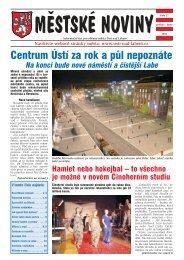 č. 27, prosinec 2004-leden 2005 - Statutární město Ústí nad Labem