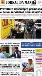 Prefeitura descumpre promessa e deixa ... - Jornal da Manhã