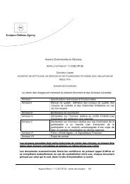 """APPEL D""""OFFRES N° 11.CSD.OP.95 Le cahier des charges est ..."""