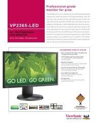 VP2365-LED - Network Spectrum, Inc.