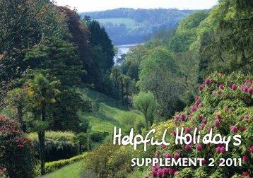 Supplement 2 2011 - Helpful Holidays