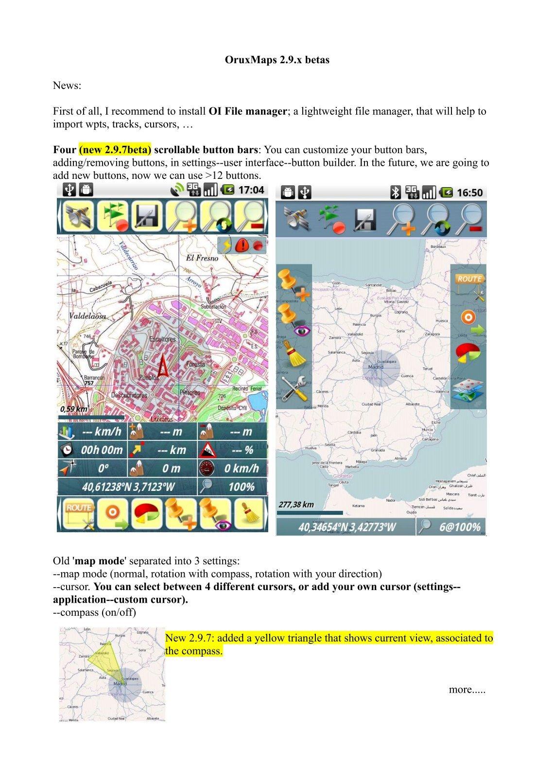 carte pour oruxmaps