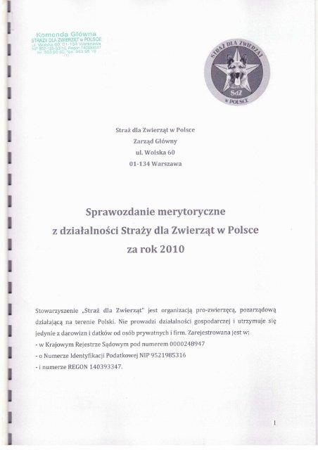 Komenda Główna - Wyszukiwanie Organizacji Pożytku Publicznego