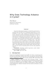 Why Does Technology Advance in Cycles? - GUPEA
