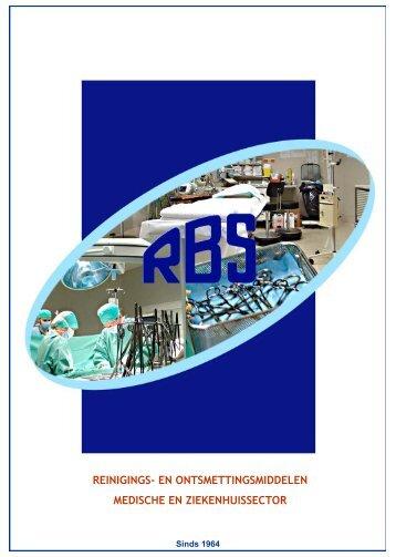RBS detergenten voor medische sector - t Labo