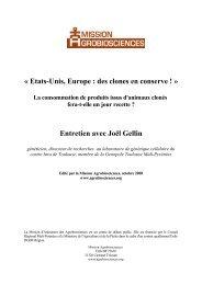 Etats-Unis, Europe : des clones en conserve ! La consommation de ...