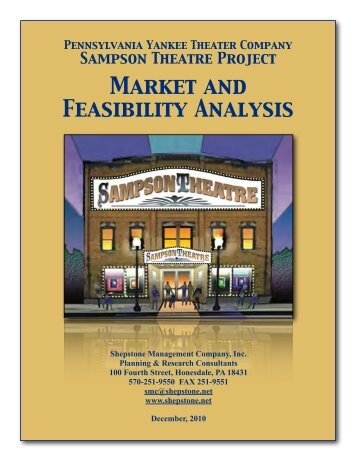 Sampson Theater Market and Feasibility Analysis - Shepstone ...
