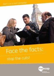 Face the facts: - Social Welfare Portal