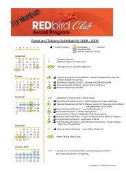 Redbird 08-09 Members (Revised by Carline)