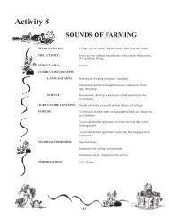 Sounds of Farming - Agriculture and Rural Development