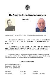 H. Andrés Mendizabal Arrieta (Joaquín) - Passio Christi