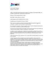 Comunicato stampa: Risultati Annuali 2006 - Il Gruppo Hera