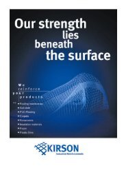 Complete Website without News, General Terms and ... - Kirson GmbH