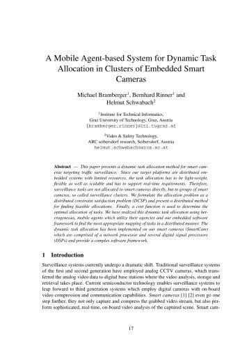 A Mobile Agent-based System for Dynamic Task ... - CiteSeer