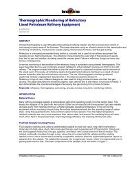 Thermographic Monitoring of Refractory Lined Petroleum Refinery ...