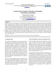 Security Metrics Model for Web Page Vulnerability Classification and ...