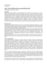 Lehdistötiedote 27.10.2004 - Automaatio- ja systeemitekniikan laitos