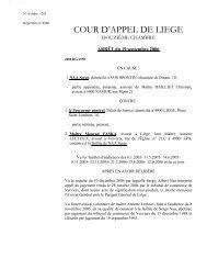 2. l'arrêt du 19 septembre 2006 - Juridat