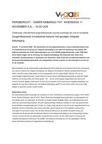 Persbericht_Zorgprofessionals onvoldoende bekend_ONDER ...