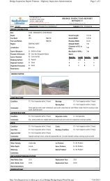 Page 1 of 2 Bridge Inspection Report Printout - Highway Inspection ...