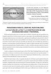 Conferencia Dictada en el II Simposio Iternacional de ... - Cedoc