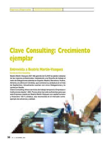Clave Consulting - Instituto Internacional San Telmo