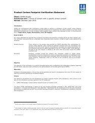Cemex Product Carbon Footprint Verification Statement (pdf)