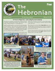 Volume 9, Issue 4 For and About Hebron February 15 ... - Gulemo