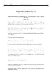 liste der kontrollstellen gemäss artikel 15 der verordnung