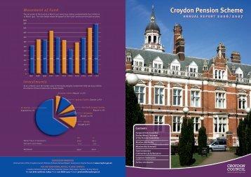 Flyer Pension Scheme Annual Report 2006-07 - Croydon Council