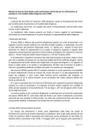 relazione tecnico finanziaria - Comune di Riccione